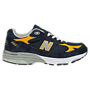 Men's Navy 993, Navy Navy with Yellow