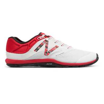 New Balance Minimus 20v6 Cressey Trainer, Alpha Red with White & Black
