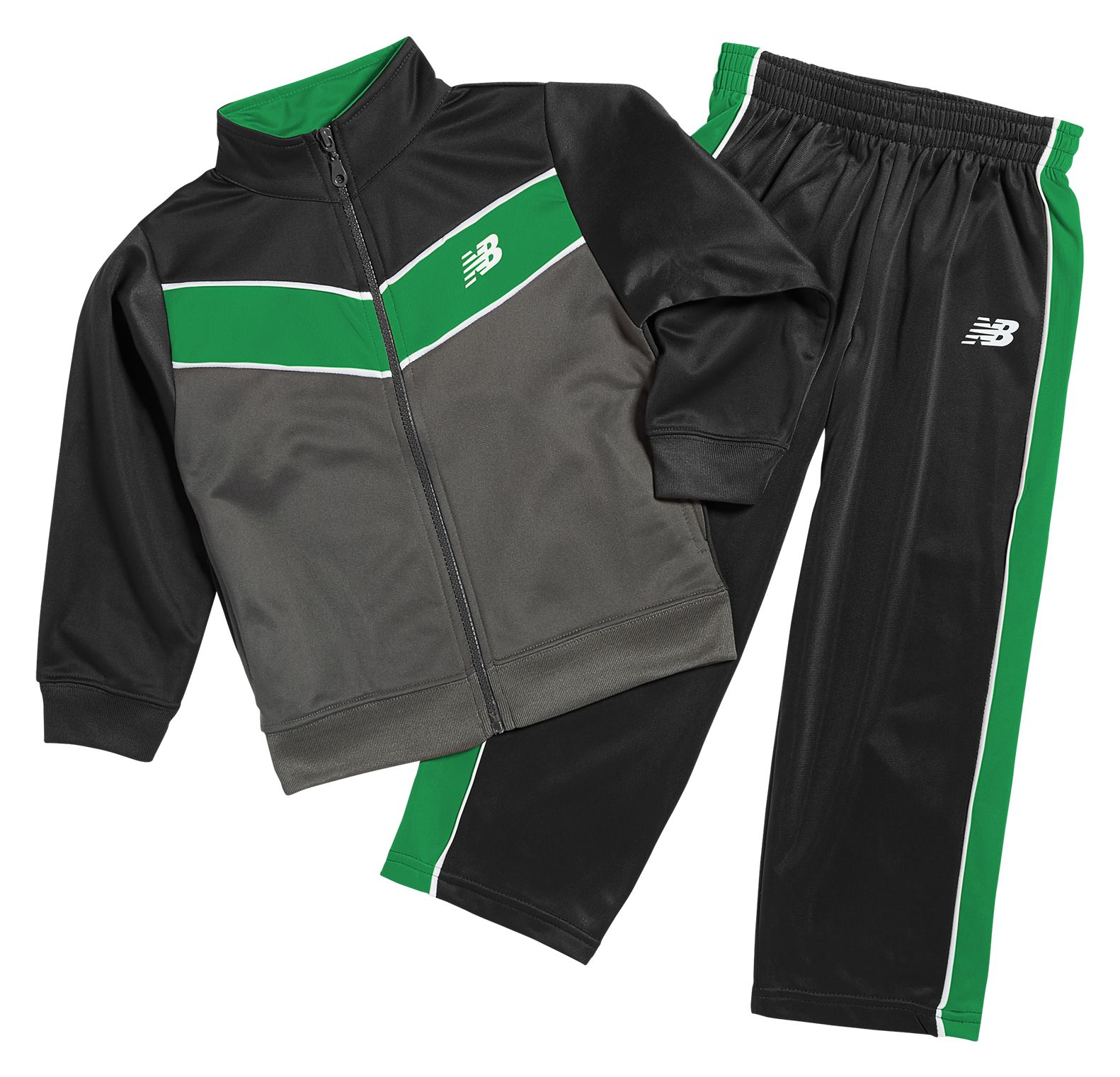 New Balance Youth Tricot Pant Set Adult  -  Vc 68bk - 3t