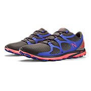 New Balance 009, Black with Purple & Coral