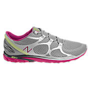 New Balance 009, Silver with Pink & Lime