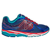 New Balance 1080v3, Blue with Diva Pink