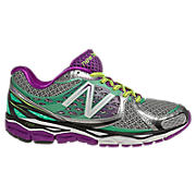 New Balance 1080v3, Silver with Waterfall & Purple