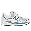 New Balance 1140, White with Blue & Silver