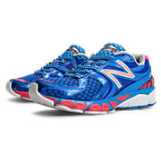 New Balance 1260v3, Blue with Pink