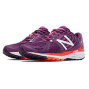 New Balance 1260v5, Purple with Orange