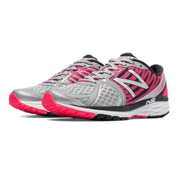 New Balance New Balance 1260v5, Silver with Pink Glo & Black