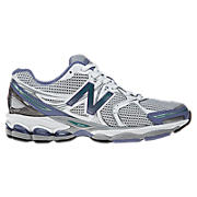 New Balance 1260, White with Silver & Blue