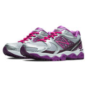 New Balance 1340v2, Silver with Pink Zing & Purple Cactus Flower