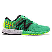 New Balance 1400v5, Green with Lime & Black