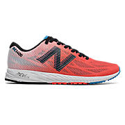 New Balance 1400v6, Coral with Black & Blue