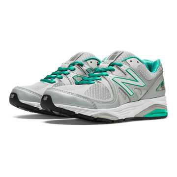 New Balance New Balance 1540v2, Silver with Mint Green