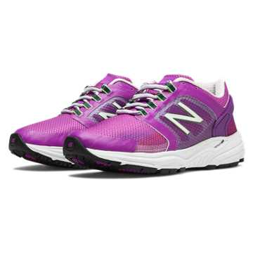 New Balance New Balance 3040, Purple Cactus Flower with White & Lime Green