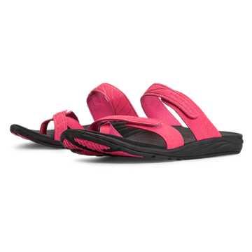 New Balance Revitalign Refresh Slide, Black with Exuberant Pink