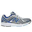 New Balance 470v3, Silver with Blue