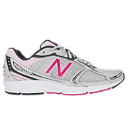 New Balance 480v3, White with Pink & Grey