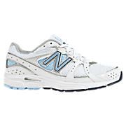 New Balance 480, White with Light Blue