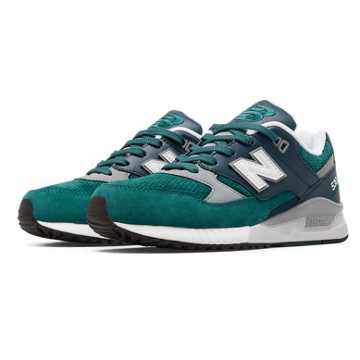 New Balance 530 90s Running Woods, Teal with Grey & Navy