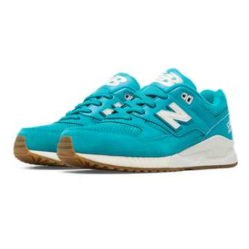 New Balance 530 90s Running Solids, Blue Atoll