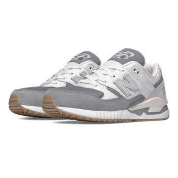 New Balance 530 Summer Waves, Steel with White