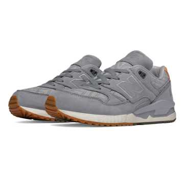 New Balance 530 NB Grey, Steel with Metallic Silver
