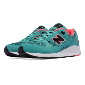 New Balance 530 Kinetic Imagination, Aquarius with Guava