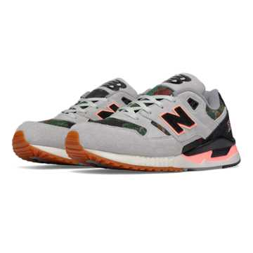 New Balance 530 Floral Ink, Steel with Black & Coral