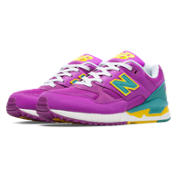 New Balance 530 Elite Edition Pinball, Purple Cactus Flower with Teal & Yellow