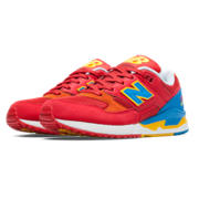 NB 530 Elite Edition Pinball, Red with Bolt & Yellow