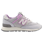 New Balance 576, Grey with Pink
