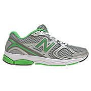 New Balance 580v2, Silver with Green