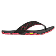 Minimus Vibram Thong, Black with Pink