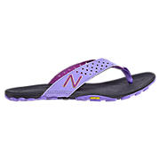 Minimus Vibram Thong, Black with Purple