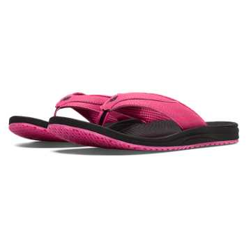 New Balance PureAlign Thong, Black with Exuberant Pink