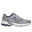 New Balance 660v2, Silver with Purple & White