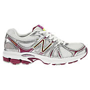 New Balance 660, White with Maroon