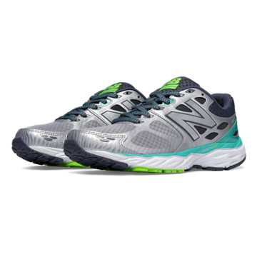 New Balance New Balance 680v3, Silver with Reef & Toxic
