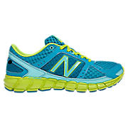 New Balance 750, Neon Blue with Fluorescent Green