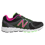 New Balance 750v2, Black with Magenta