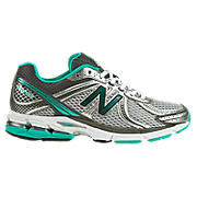 New Balance 770v2, Silver with Teal