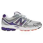 New Balance 770v3, Silver with Purple & Pink