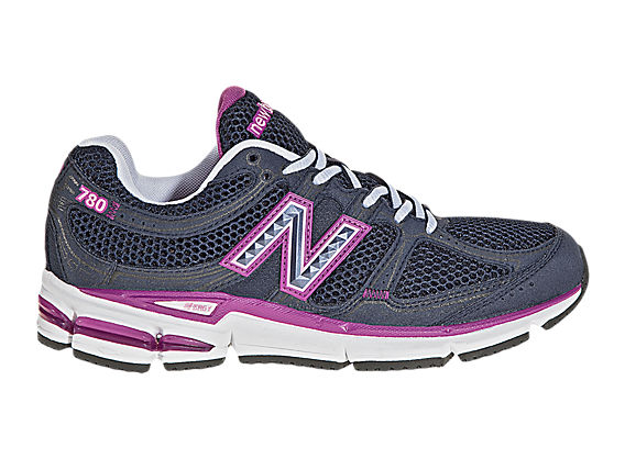 New Balance 780, Navy with Pink