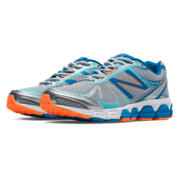 NB New Balance 780v5, Silver with Blue & Orange