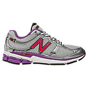 New Balance 780, Silver with Purple & Pink