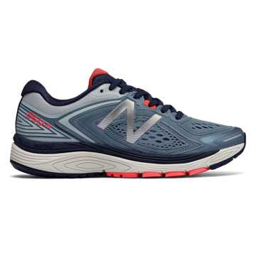 New Balance 860v8, Deep Blue with Pigment & Coral