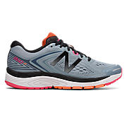 New Balance 860v8, Reflective Grey with Alpha Pink & Black