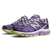 New Balance 860v4, Purple with White