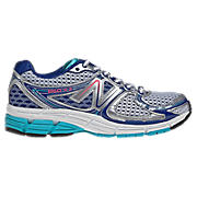 New Balance 860v3, Silver with Blue & Blue Atoll