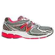 New Balance 860v3, Pink Shock with Silver & Black
