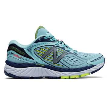 New Balance New Balance 860v7, Ozone Blue with Lime Glo